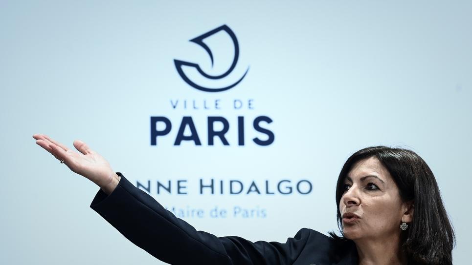 La maire de Paris, Anne Hidalgo, lors d'une conférence de presse le 21 mars 2019 à Paris