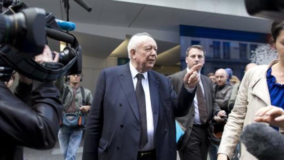 Le maire de Marseille Jean-Claude Gaudin le 8 juillet 2014 à Paris