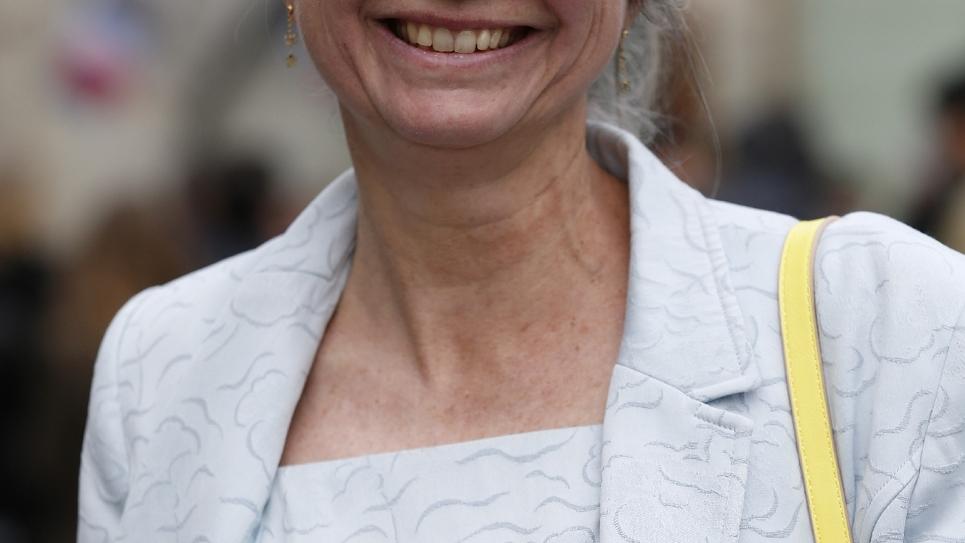 La députée de l'Oise Agnès Thill, à Paris le 19 mai 2017