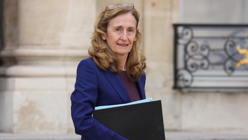 La ministre de la Justice Nicole Belloubet à l'Elysée, le 20 mars 2019 à Paris