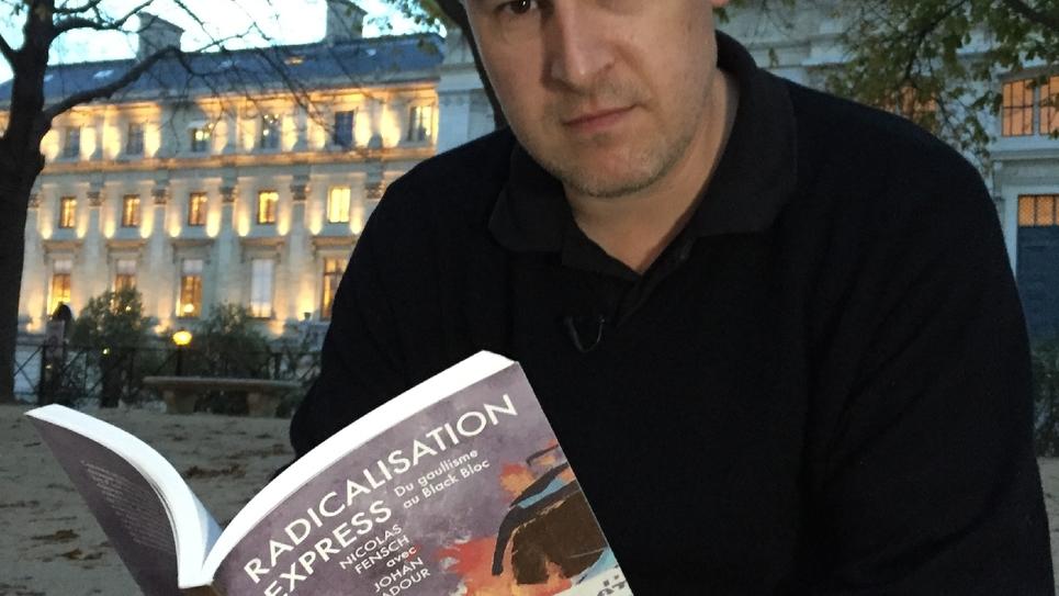 Nicolas Fensch photographié devant le palais de justice de Paris le 11 octobre