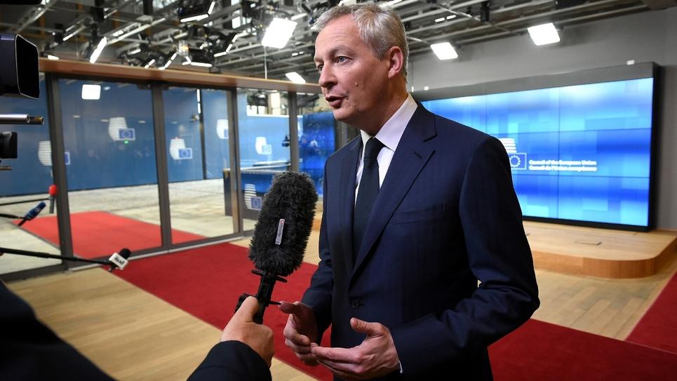 Bruno Le Maire à Bruxelles le 12 février 2019