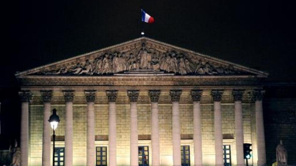 L'Assemblée nationale, à Paris, le 19 janvier 2010