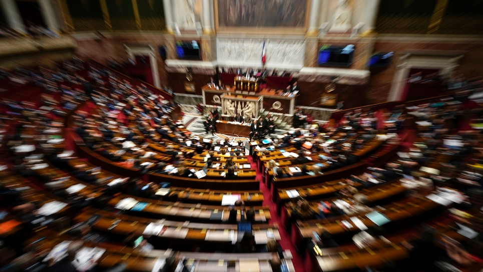 L'Assemblée nationale le 12 mars 2019