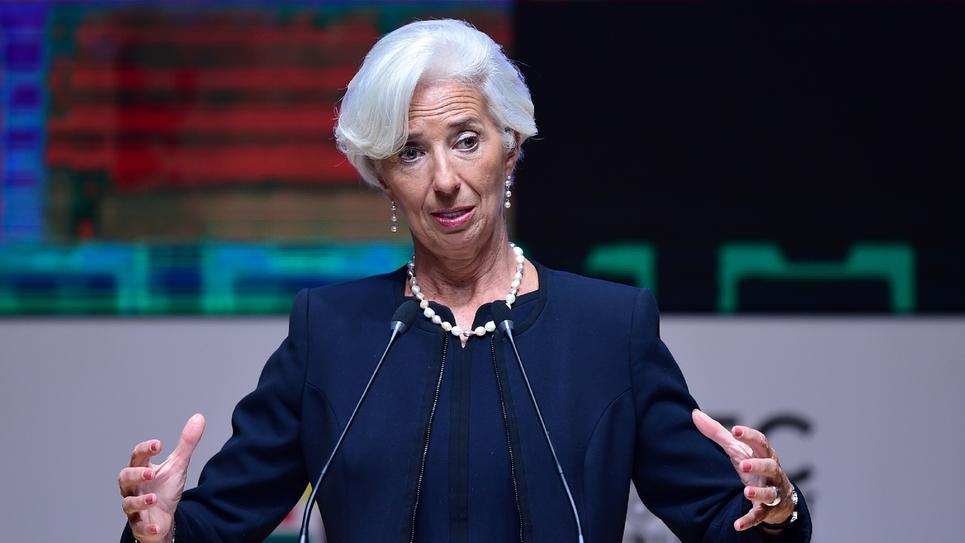 Christine Lagarde le 18 novembre 2016 à Lima