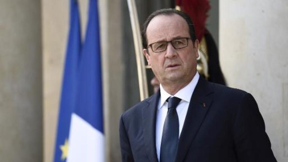 François Hollande à l'Elysée à Paris, le 23 octobre 2014