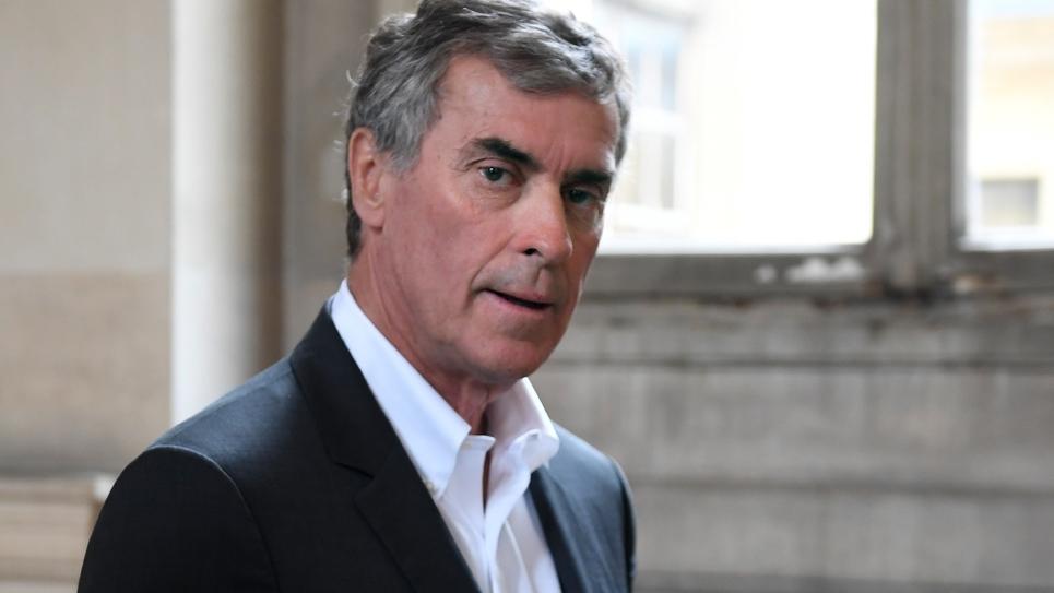 Jérôme Cahuzac, à Paris le 15 mai 2018