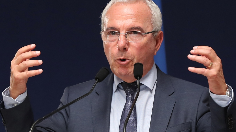Jean Leonetti, vice-président des Républicains, à Menton, en juin 2018