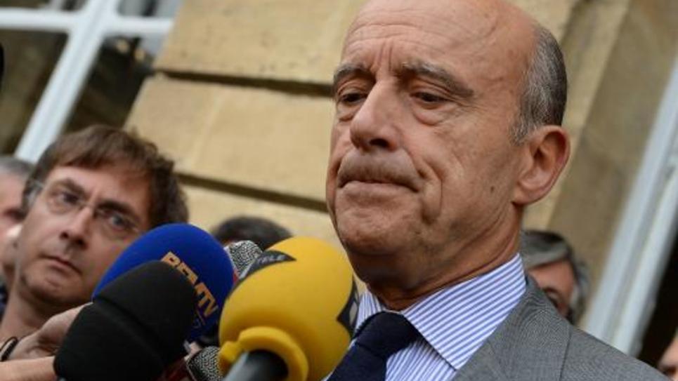 Le maire de Bordeaux et ancien Premier ministre Alain Juppé, le 25 septembre 2014 à Bordeaux