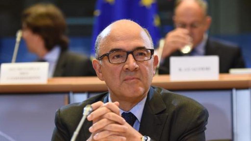 Pierre Moscovici le 2 octobre 2014 au Parlement à Bruxelles