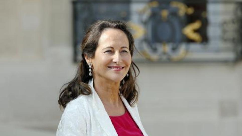 La ministre de l'Ecologie, Ségolène Royal à Paris le 10 septembre 2014