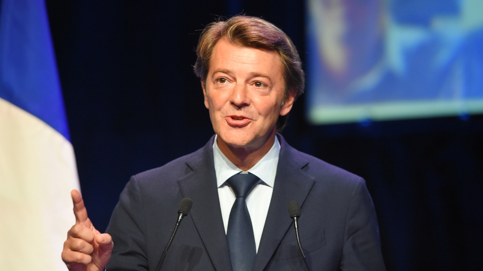 François Baroin, président de l'AMF, photo du 1er octobre 2019
