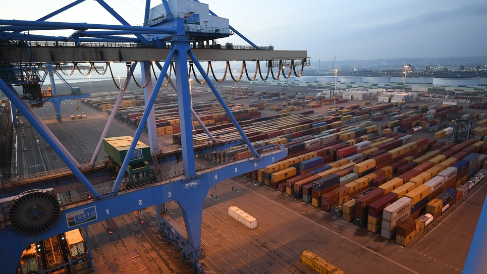 Le port du Havre en 2017