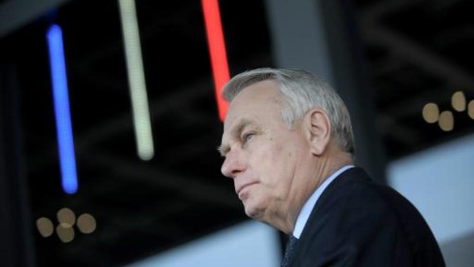 Jean-Marc Ayrault à Nantes le 9 avril 2015