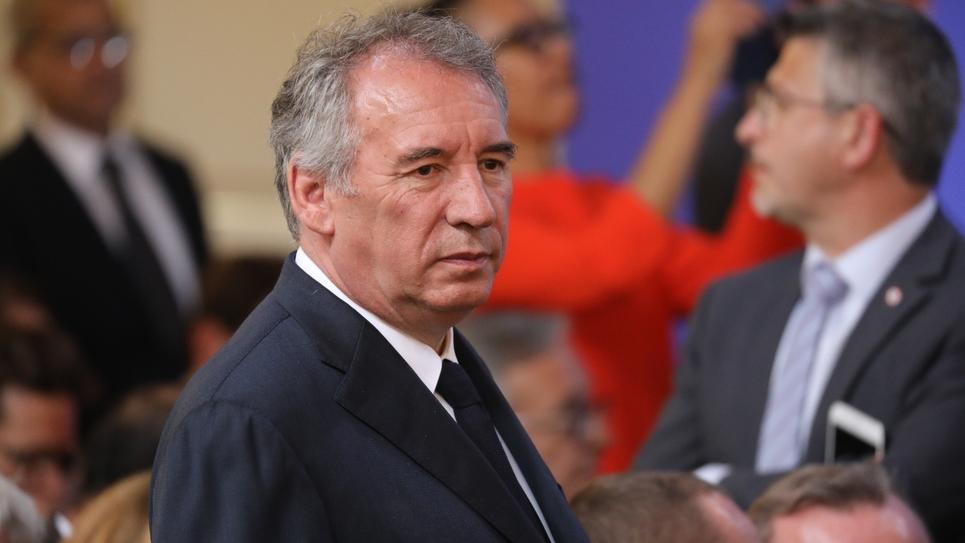 Le président du MoDem et maire de Pau, Francois Bayrou, à Paris le 22 mai 2018