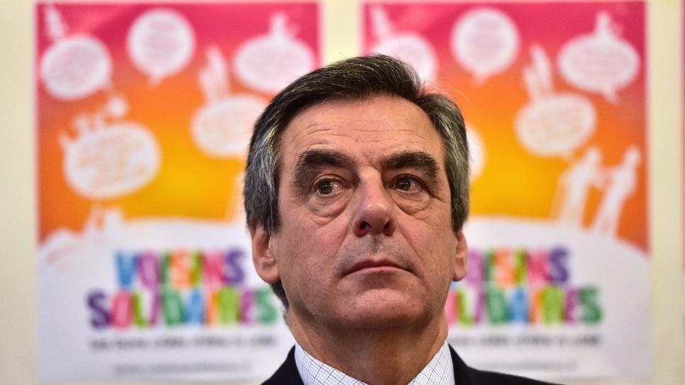 Le candidat de la droite à la présidentielle, François Fillon, à Paris le 18 janvier 2017.
