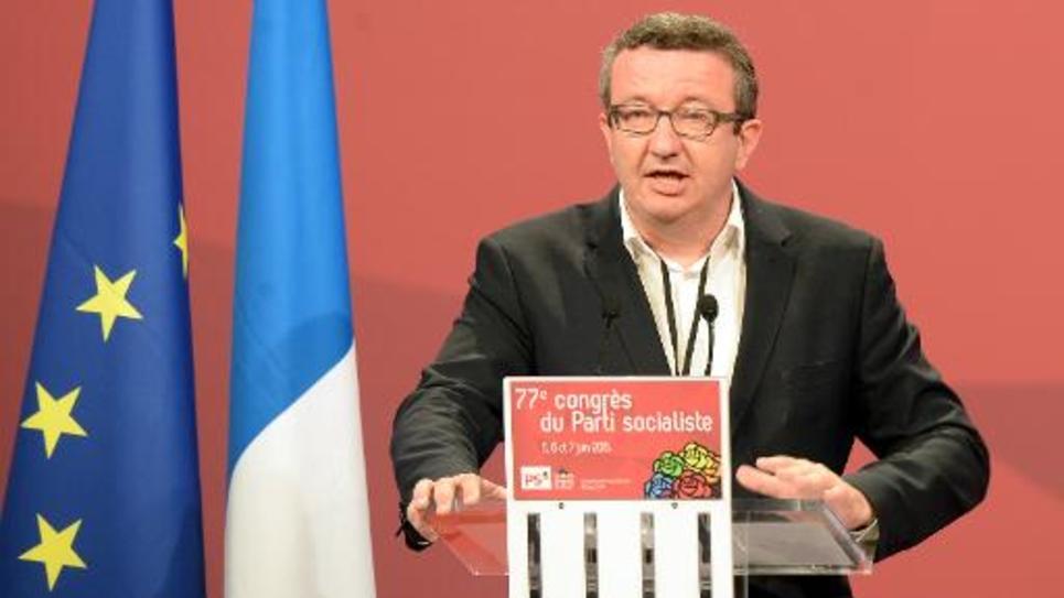Christian Paul au congrès du PS le 6 juin 2015 à Poitiers