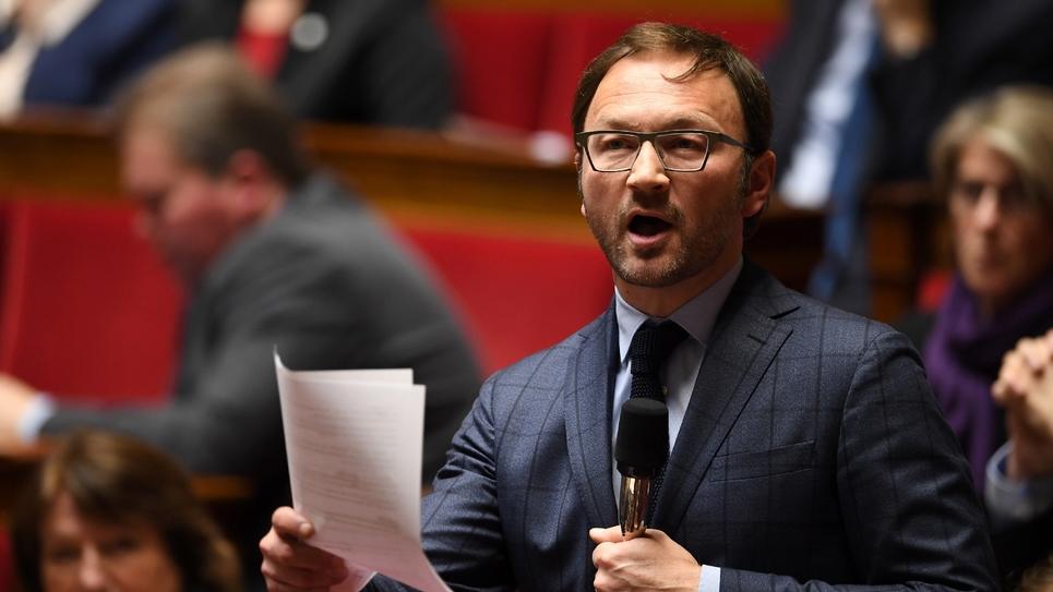 Le député MoDem Patrick Mignola, le 20 février 2018 à l'Assemblée nationale
