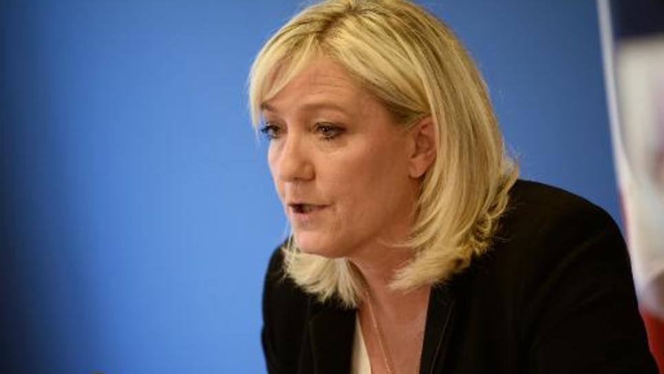 Marine Le Pen le 3 juin 2015 à Nanterre