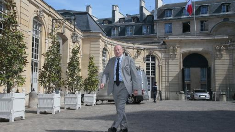 Jean-Marie Le Guen, le secrétaire d'Etat aux relations avec le Parlement, à Paris le 4 juin 2015