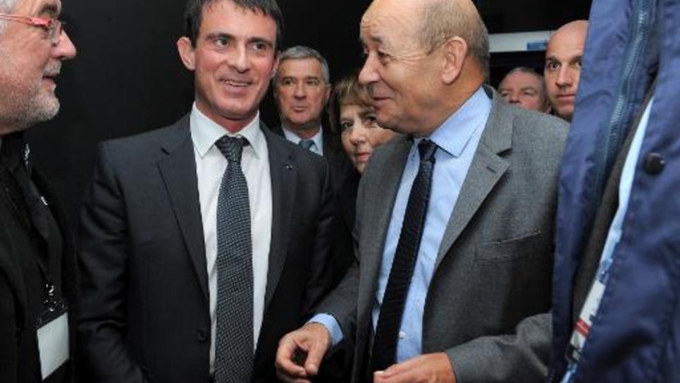 Le Premier ministre, Manuel Valls, le 18 décembre 2014 à Brest