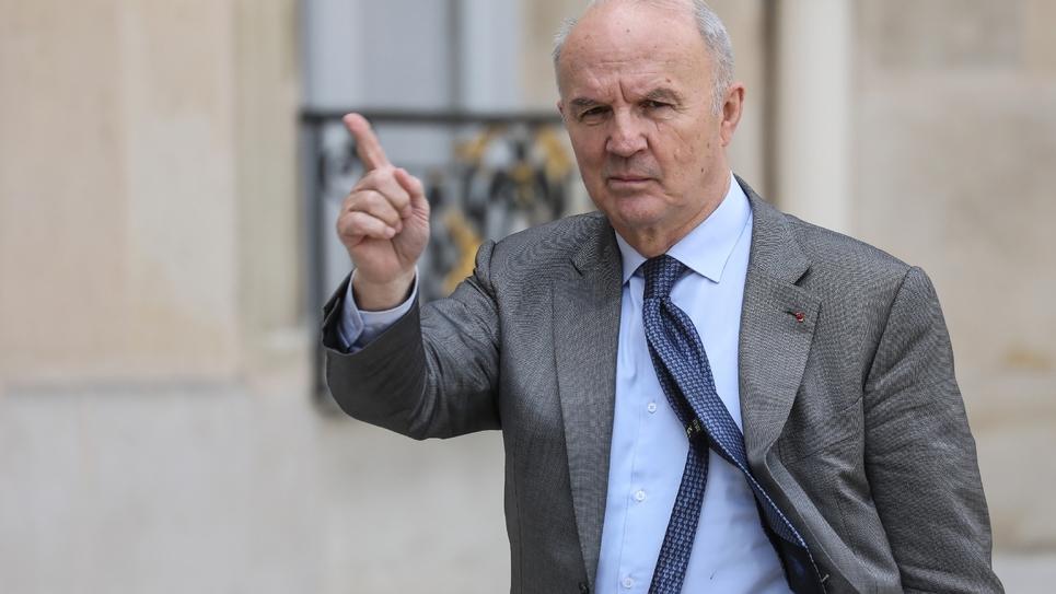 Le général Jean-Louis Georgelin, le 29 mai 2019 à l'Elysée
