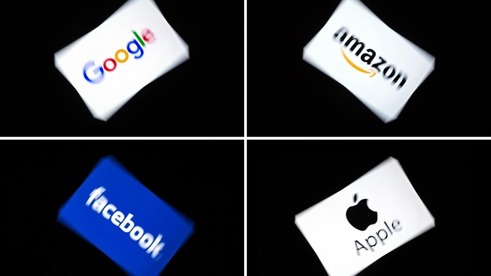 Les Gafa, acronyme des géants du numérique que sont Google, Amazon, Facebook et Apple