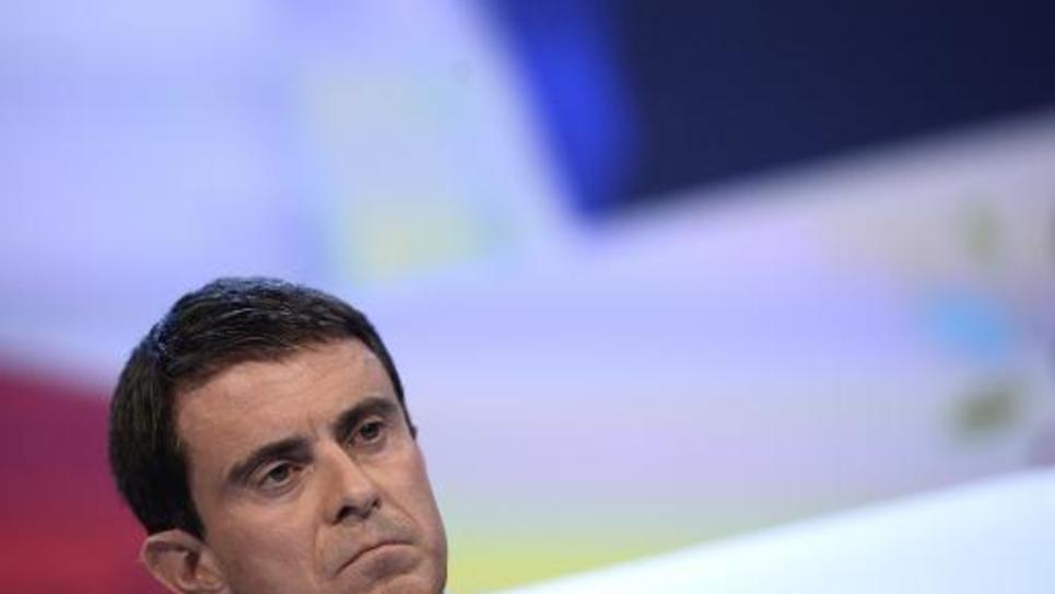 Le Premier ministre Manuel Valls au Congrès des maires à Paris, le 27 novembre 2014