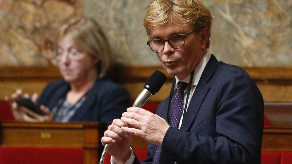 Marc Fesneau du MoDem à l'Assemblée nationale le 28 juin 2017