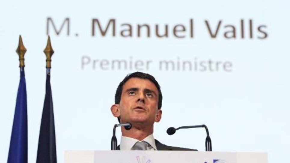Le Premier ministre, Manuel Valls, le 17 novembre 2014 à Paris