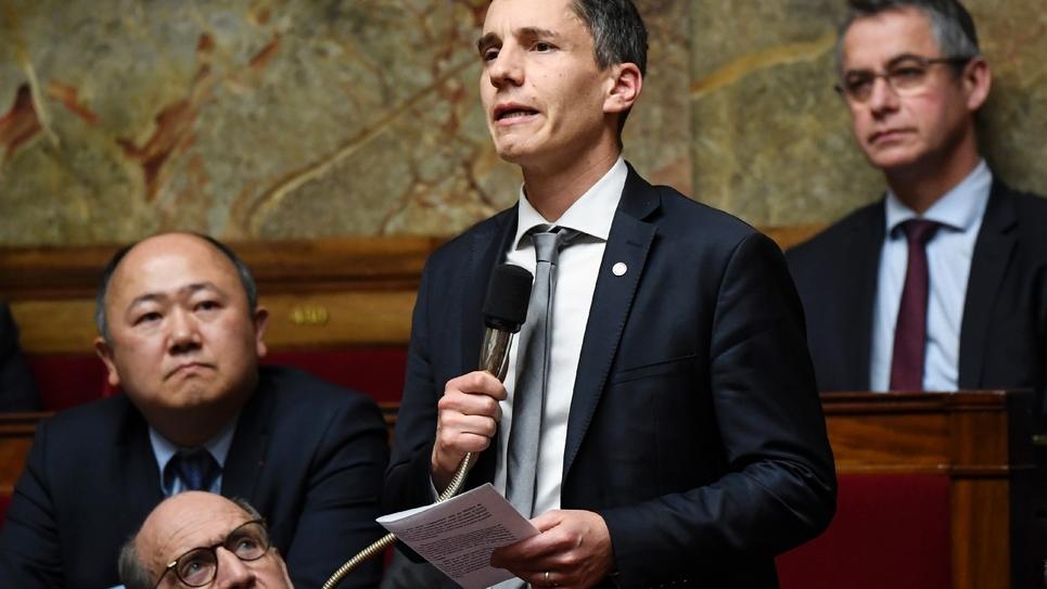 Le député LREM du Bas-Rhin Bruno Studer à l'Assemblée nationale, le 12 décembre 2018