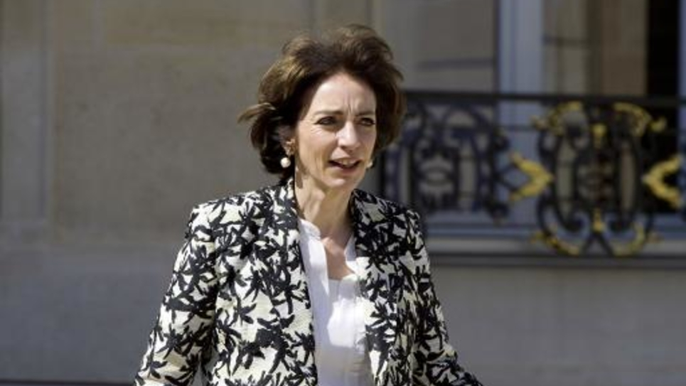 La ministre des Affaires sociales et de la Santé Marisol Touraine à l'Elysée, à Paris, le 14 mai 2014