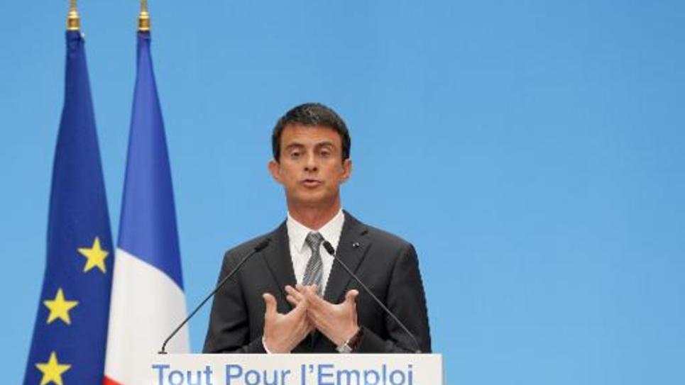 Le Premier ministre français Manuel Valls à Paris le 9 juin 2015