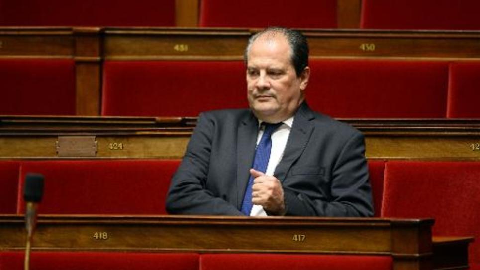 Jean-Christophe Cambadélis, premier secrétaire du PS, le 16 décembre 2014 à l'Assemblée nationale