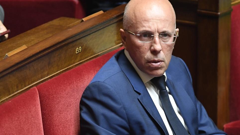 Le député LR Eric Ciotti à l'Assemblée le 16 juillet 2019