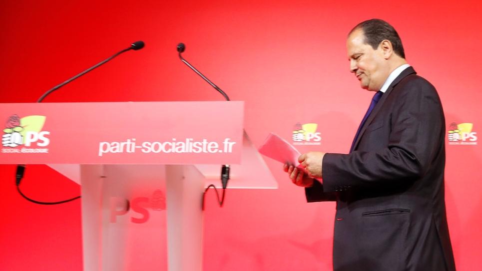 Le numéro un du Parti socialiste, Jean-Christophe Cambadélis, le 18 juin 2017 à Paris