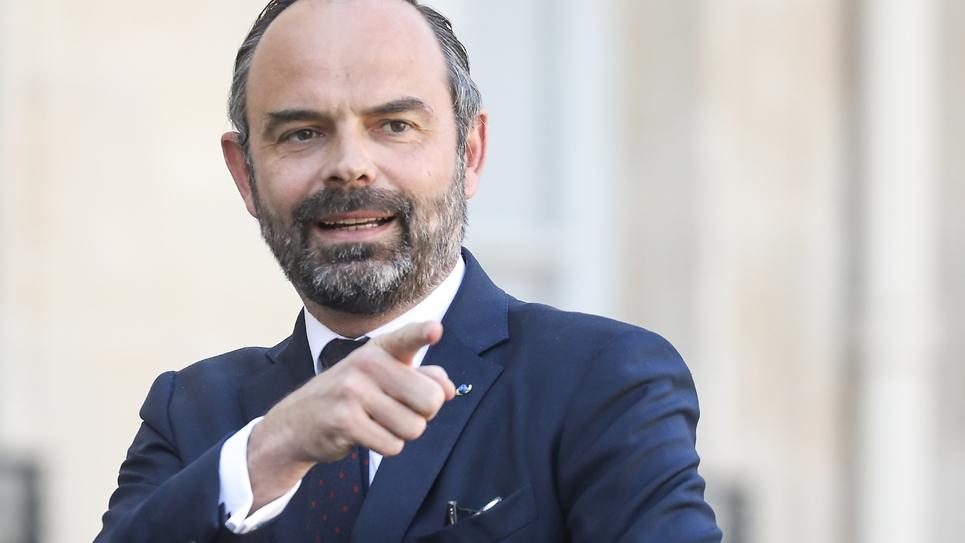 Le Premier ministre Edouard Philippe, le 27 février 2019 à l'Elysée, à Paris