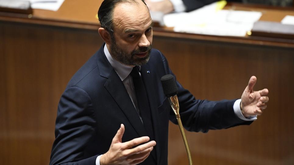 Le Premier ministre  Edouard Philippe lors d'une session à l'Assemblée nationale, le 12 décembre 2018