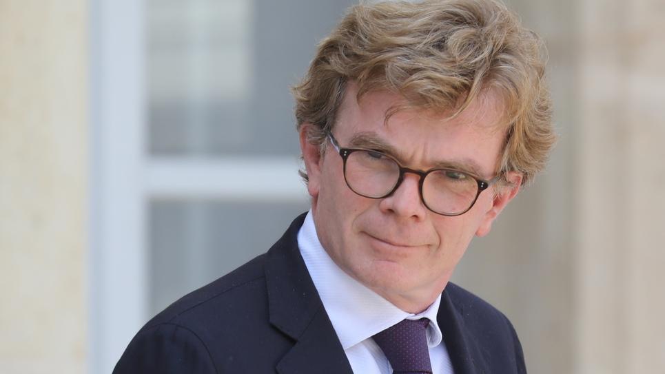 Le ministre des Relations avec le Parlement Marc Fesneau le 17 juillet 2019