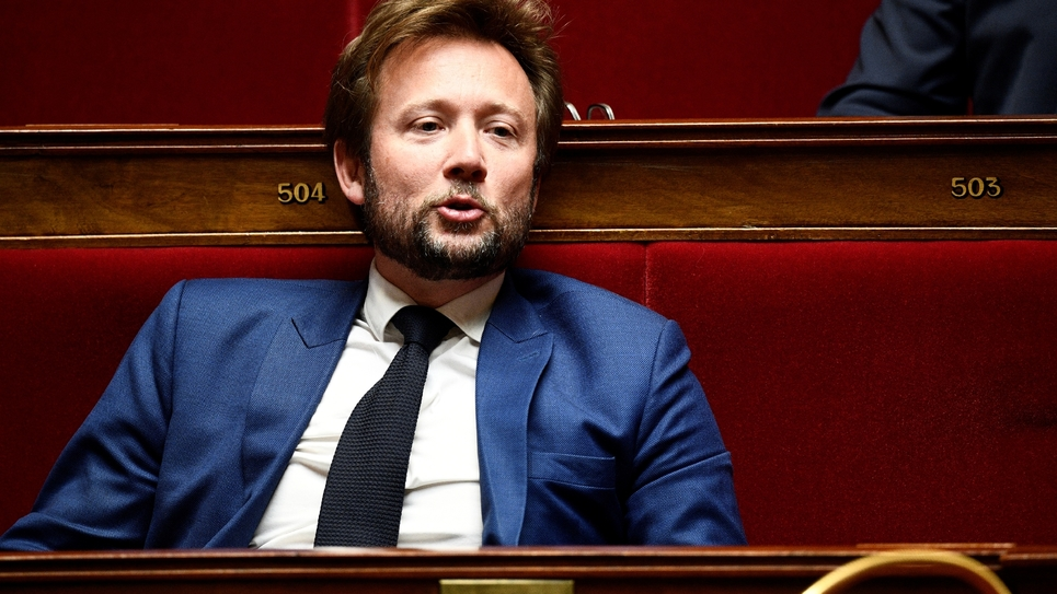 Boris Vallaud en mars 2019 à l'Assemblée nationale