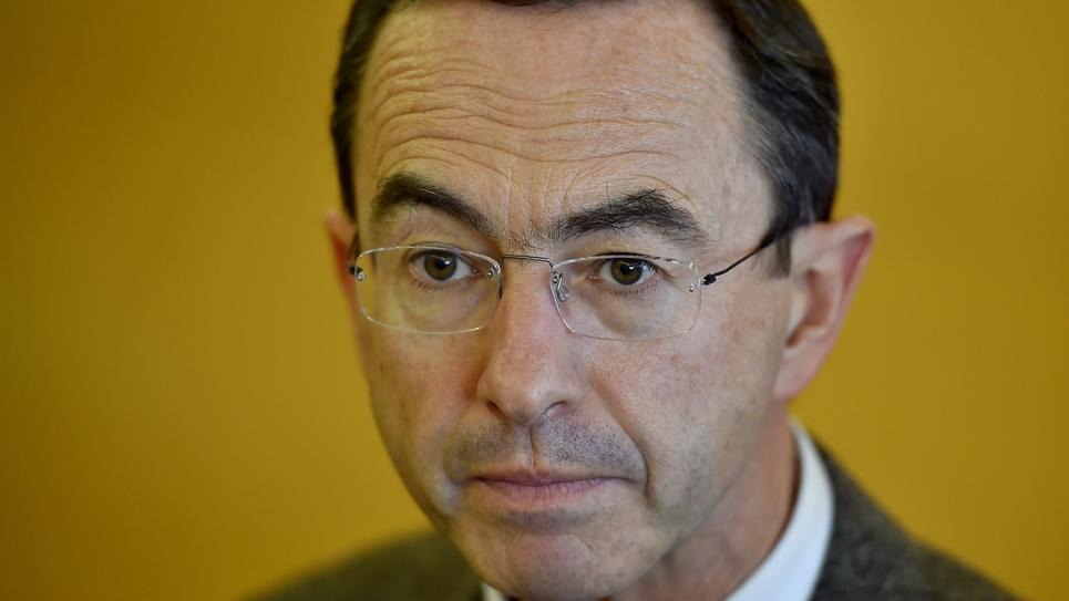 Le sénateur LR Bruno Retailleau  à Nantes, le 9 décembre 2016