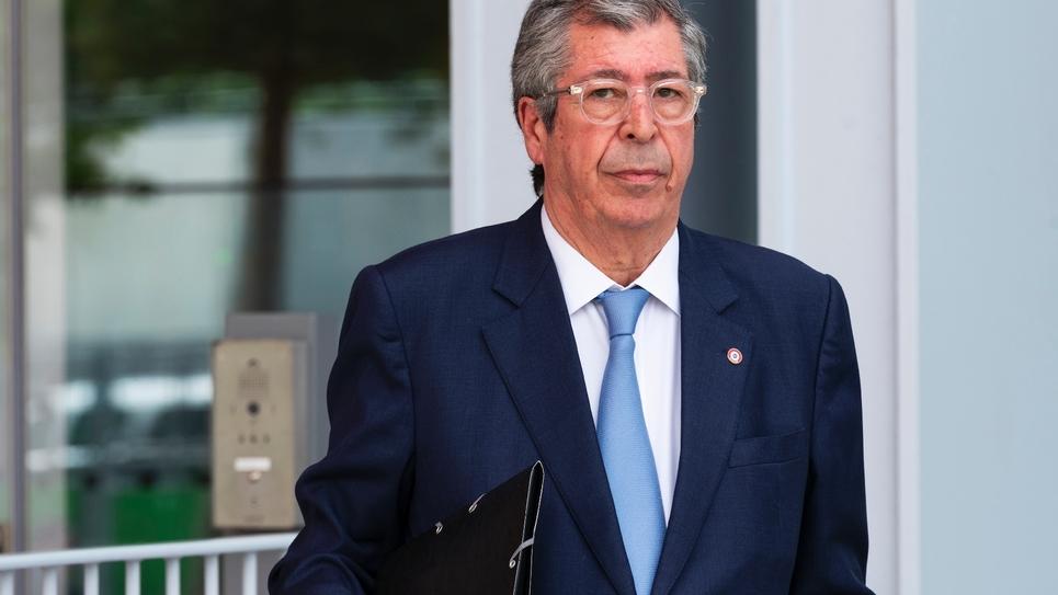 Patrick Balkany, maire de Levallois-Perret (Hauts-de-Seine), arrivant au tribunal de Paris le 22 mai 2019 pour son procès.