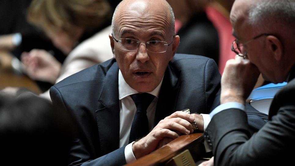 Le député LR Eric Ciotti à l'Assemblée nationale, le 15 janvier 2019