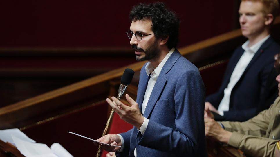 Le député LFI Bastien Lachaud le 21 mai 2019 à l'Assemblée Nationale