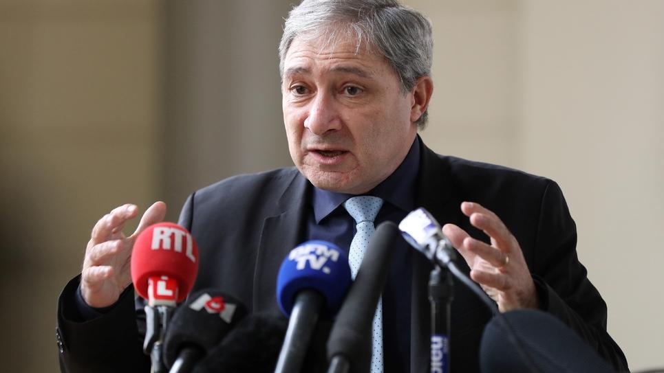 Le procureur de Nice Jean-Michel Prêtre le 19 janvier 2017