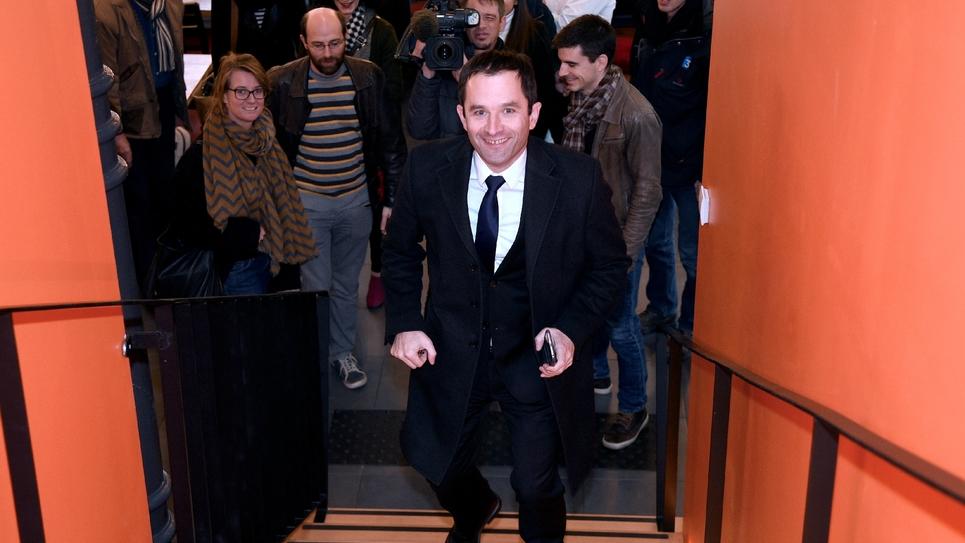Benoît Hamon à Armentières, le 16 décembre 2016