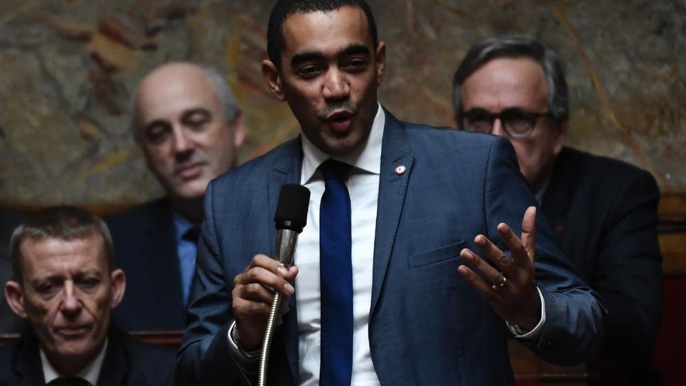 Le député LREM Saïd Ahamada à l'Assemblée nationale, le 15 janvier 2019