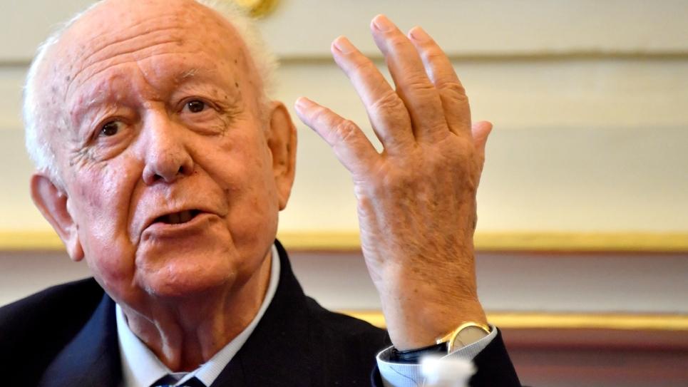 Le maire LR de Marseille Jean-Claude Gaudin le 8 novembre 2018 à Marseille