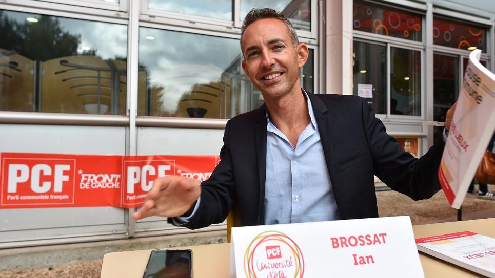 Ian Brossat le 26 août 2018 à Angers