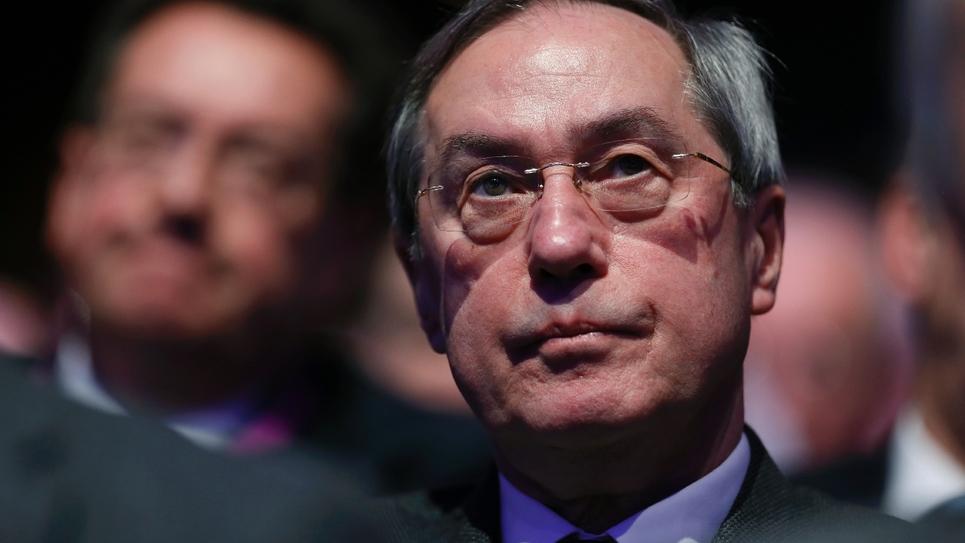 Claude Guéant, le 14 janvier 2017 au conseil national des Républicains à Paris